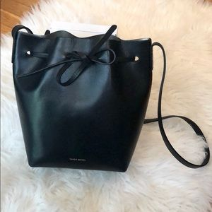 Auth. Mansur Gavriel large bucket bag